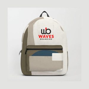 Branded backpack