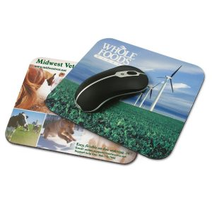 Branded mouse pad