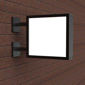 Backlit sign