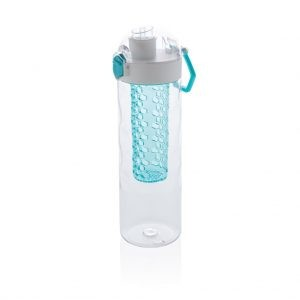 HONEYCOMB - Lockable Leak Proof Infuser Bottle - Turquoise